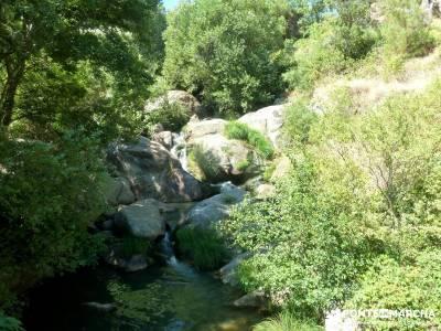 Cascadas de Gavilanes; viajes senderismo madrid;senderismo entre semana madrid;actividades de verano